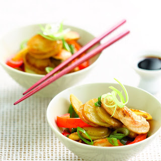 Chinese Chicken and Potatoes