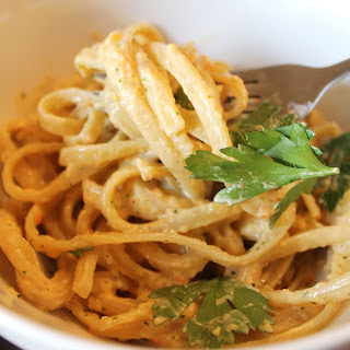 Linguine in Tex-Mex Pepper Cream Sauce Recipe