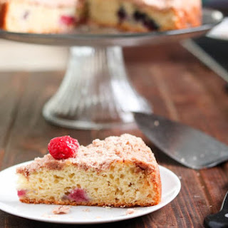 Healthy Berry Brunch Cake.