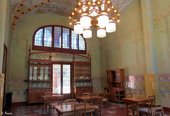 Comedor - Barcelona Modernista