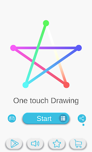 One touch Drawing - 1LINE Screenshot