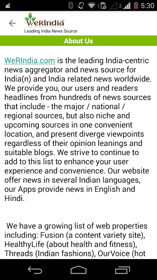 Leading India News Source- screenshot