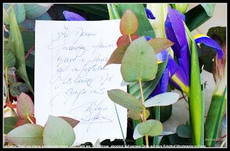 Photo: récente lettre au poète allemand Heinrich Heine