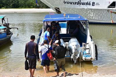Depart from Nopparat Thara Pier in Ao Nang