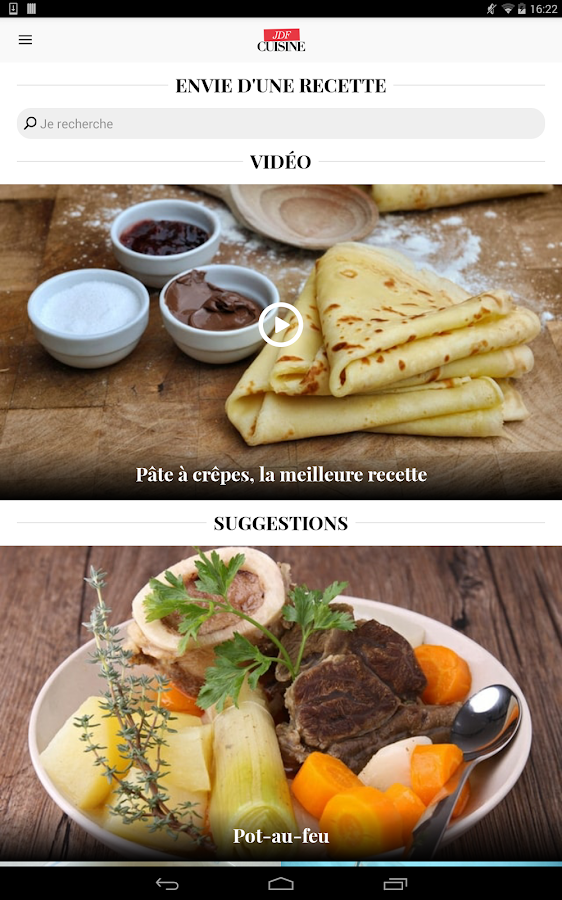 Cuisine recettes de cuisine android apps on google play - What is a chef de cuisine job description ...