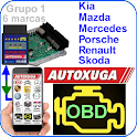 scanner cars for Kia,Mercedes,Renault,Skoda OBD2 icon