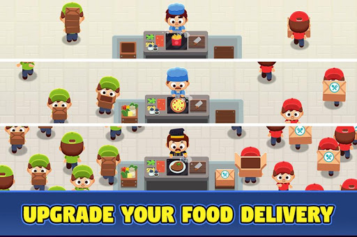 Food Delivery Tycoon - Idle Food Manager Simulator 1.1.2 screenshots 1