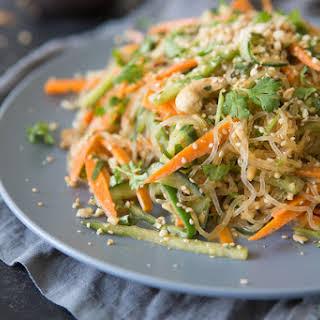 Summer Kelp Noodle Salad.