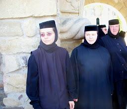 Photo: Sucevita Monastery - Monjas