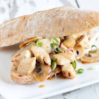 Chicken And Mushroom Sandwich.