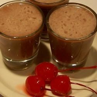 Chocolate Covered Cherry Shooters.
