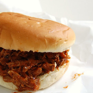 Ting Town Barbeque Beef Sandwiches