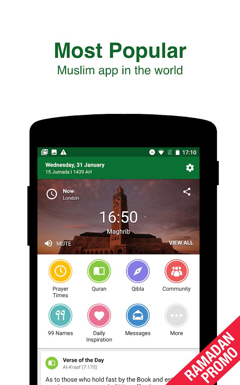Muslim Pro - Ramadan 2018 Screenshot