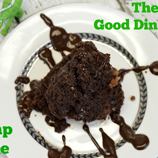 Crockpot Chocolate Dump Cake.