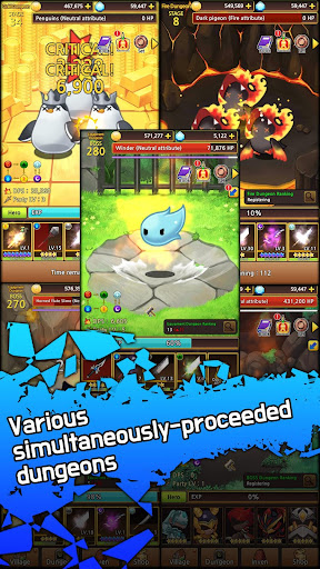 Sword Knights : Idle RPG (Premium) apkmr screenshots 14