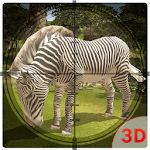 Wild Zebra Hunter Simulator Icon