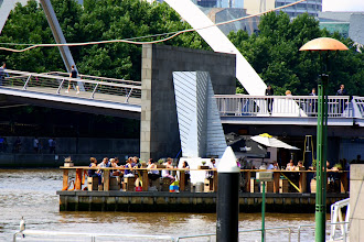 Photo: Year 2 Day 141 - Bar on the Yarra River in Melbourne