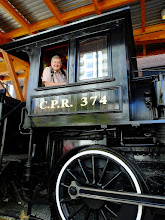Photo: The engineer hasn't aged much considering the train arrived in 1887.