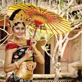 The Princess by Purnawan  Hadi - People Portraits of Women ( bali, princess, girl, indonesia, beautiful, asia, culture )