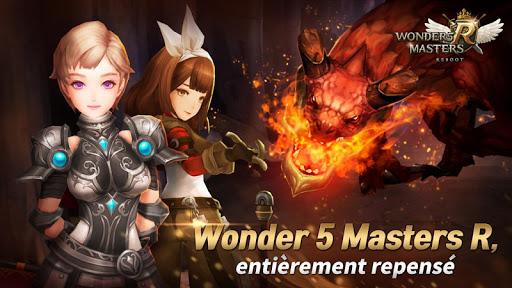 Wonder5 Masters R  code Triche 1