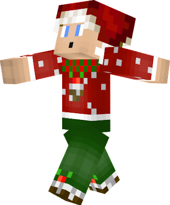 The 18th skin. Christmas pudding shoes 1 year of my skin making