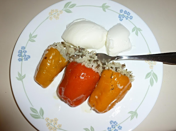 Stuffed Baby Bell Peppers (egyptian Recipe)