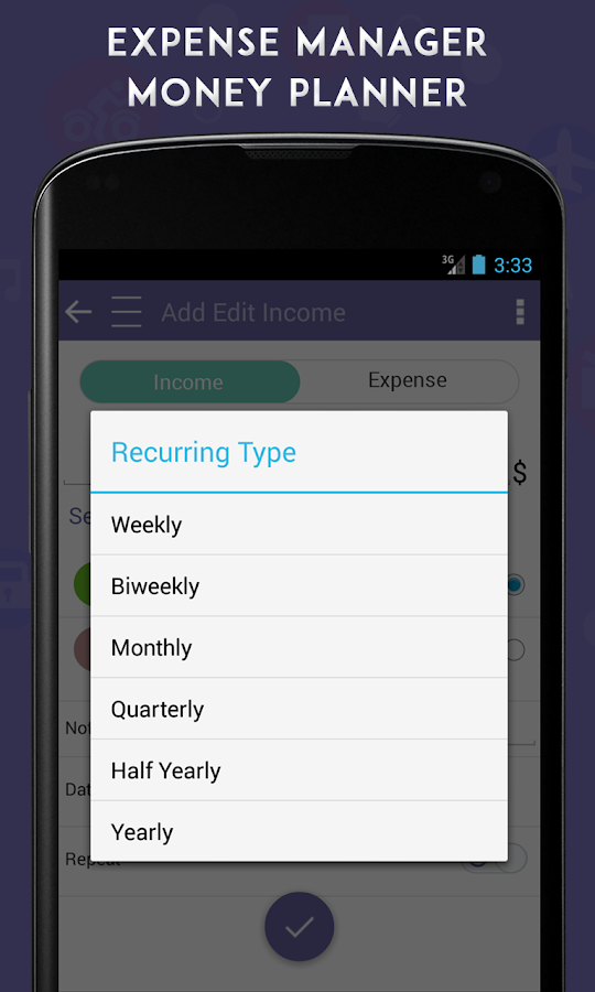 Expense Manager Money Planner- screenshot
