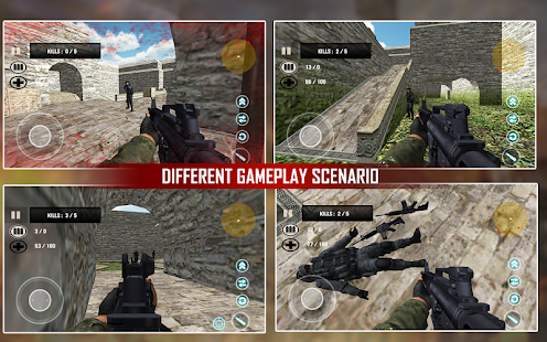 Counter Terrorist Attack War- screenshot thumbnail
