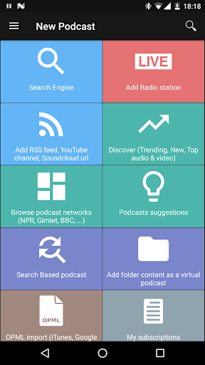 Podcast & Radio Addict for PC