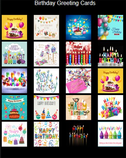 Birthday Cards for Facebook screenshot 8
