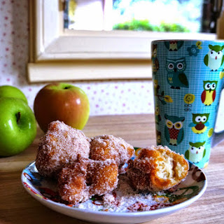 Sunday Morning Apple Fritters