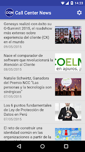Call Center News- screenshot thumbnail
