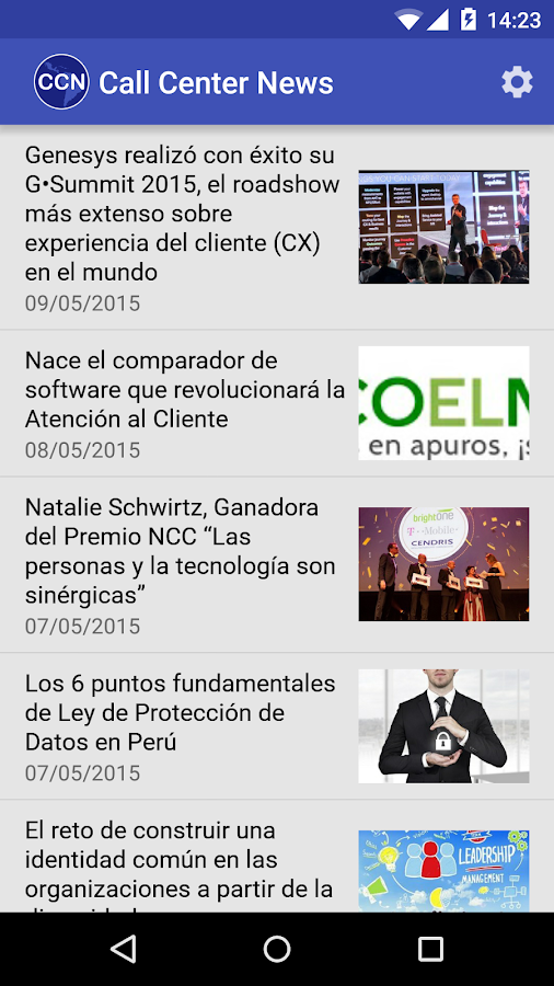 Call Center News- screenshot