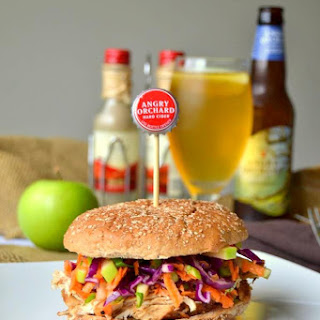 Cider Marinated Chicken with Apple Slaw – 2 Ways