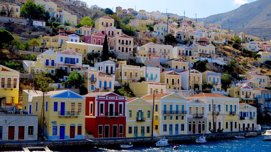 Symi by Richard Lawes - Novices Only Landscapes