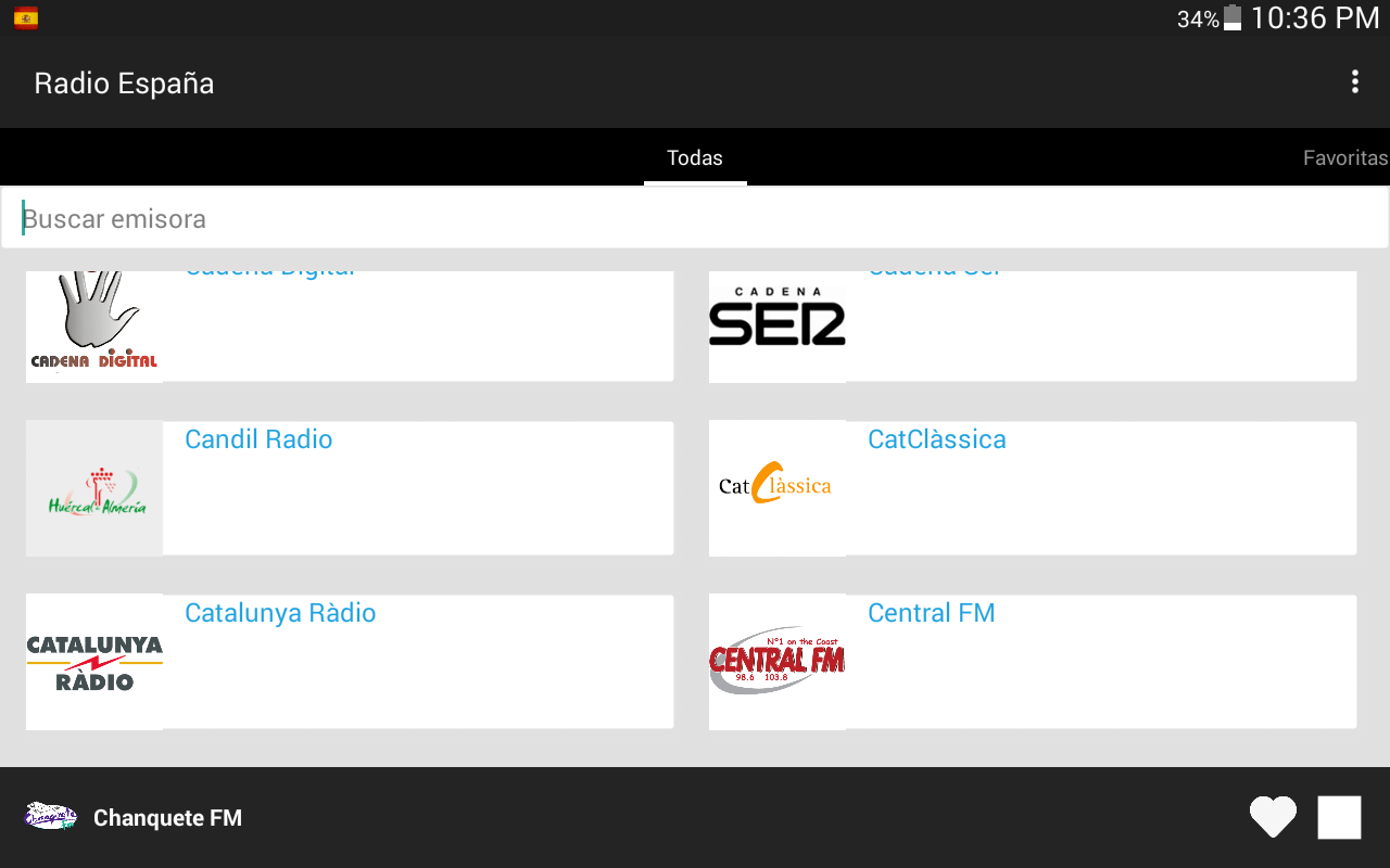 Radio Spain- screenshot