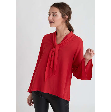 Dry Lake Malley blouse red