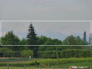 Photo: les Pyrénées sont visibles ce matin...