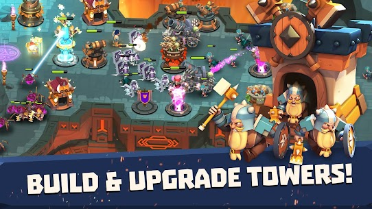 Castle Creeps TD 1.25.0 MOD (Unlimited Money) Apk 3