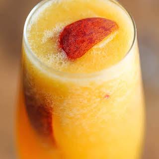 Frozen Peach Bellini.