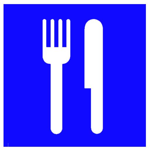Картинка знак столовая