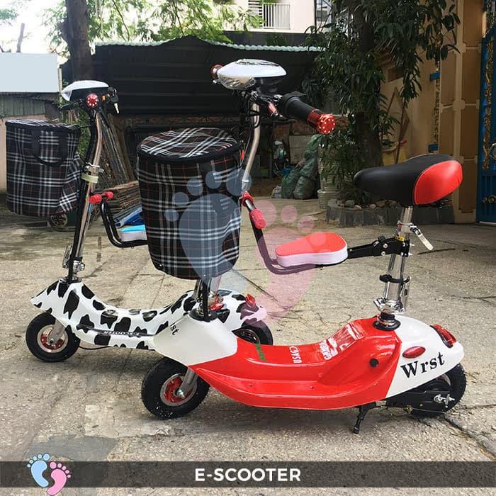 Xe điện E-Scooter mini gấp gọn 9