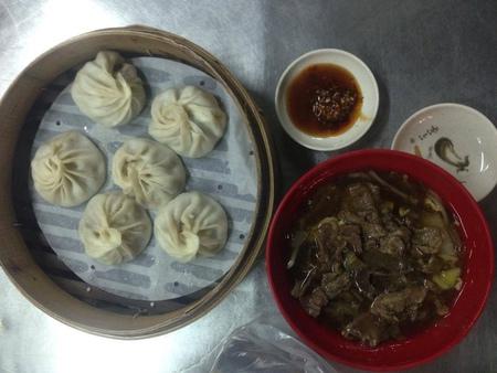竹東市場-阿英湯包、廣東手工鍋貼水餃 @ WEITYSON的部落格