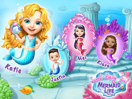 Sweet Baby Girl Mermaid Life - Magical Ocean World 4.0.1 screenshots 7