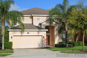 Orlando villa, near Disney, gated community, west-facing pool and spa, conservation view, games room