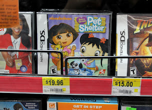 Photo: and a Dora Nintendo DS game, but no more Dora books!! I was completely bummed. :(