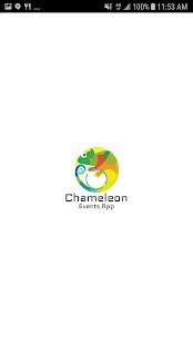 Chameleon Event App - náhled