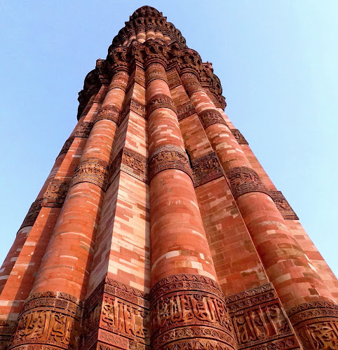 The Mighty Qutb Minar by Gautam Tarafder - Buildings & Architecture Statues & Monuments (  )