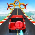 Impossible Prado Car Stunt - Mega Ramp Stunts 3D icon