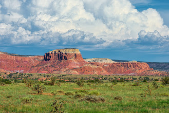 Photo: Ghost Ranch mesas, NM